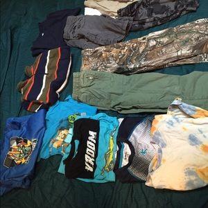 Size 8 boys clothing lot